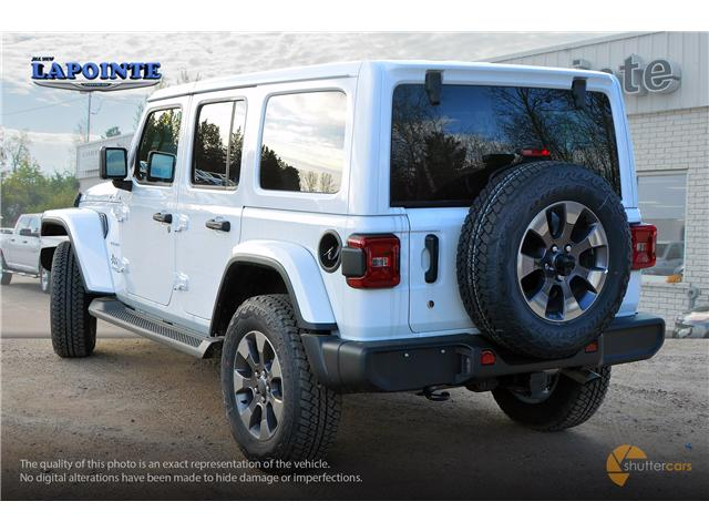 2018 Jeep Wrangler Unlimited Sahara (Stk: 18222) in Pembroke - Image 4 of 20