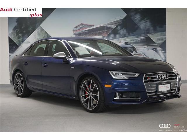 2018 Audi S4 3.0T Technik (Stk: A2381A) in Richmond - Image 1 of 20