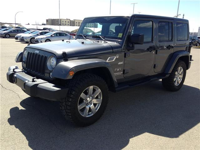 2017 Jeep Wrangler Unlimited Sahara (Stk: 2800739B) in Calgary - Image 3 of 12