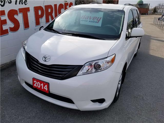2014 Toyota Sienna 7 Passenger (Stk: 18-211) in Oshawa - Image 1 of 14
