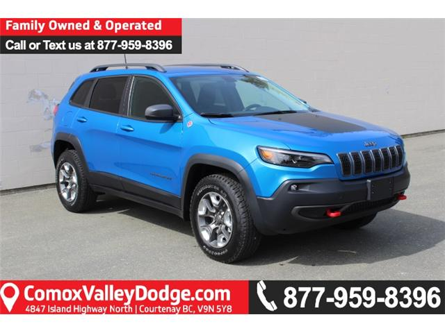 2019 Jeep Cherokee Trailhawk (Stk: D107791) in Courtenay - Image 1 of 30
