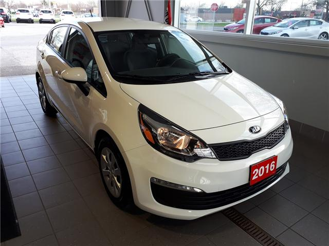 2016 Kia Rio LX+ (Stk: ) in Windsor - Image 1 of 12