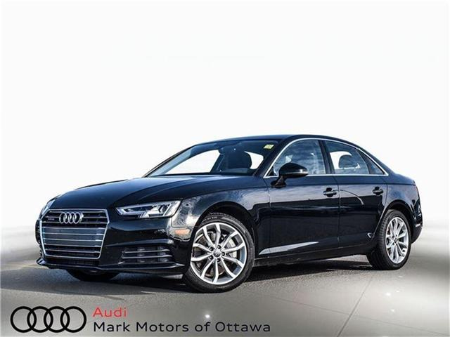 2017 Audi A4 2.0T Progressiv (Stk: 89577) in Nepean - Image 1 of 26