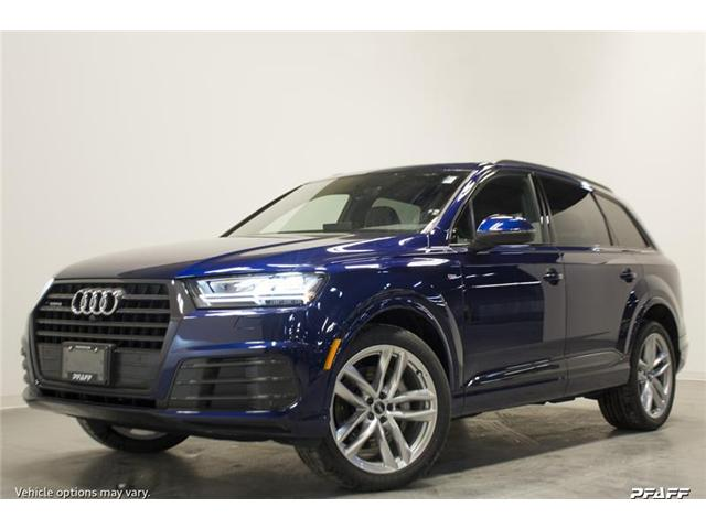 2018 Audi Q7 3.0T Technik (Stk: T14754) in Vaughan - Image 1 of 7