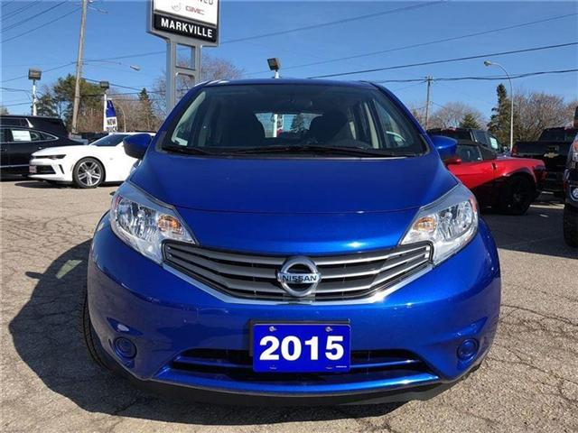 2015 Nissan Versa Note SV-CERTIFIED PRE-OWNED-1 OWNER TRADE (Stk: 109401A) in Markham - Image 8 of 18