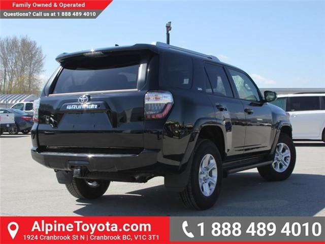 2018 Toyota 4Runner SR5 (Stk: 5560736) in Cranbrook - Image 5 of 18