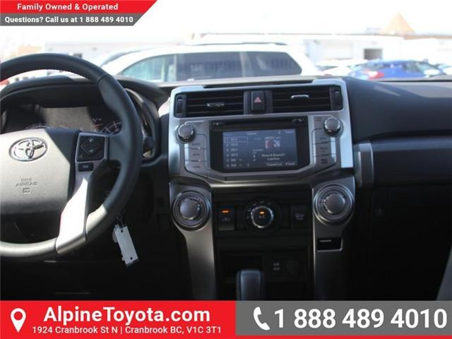 2018 Toyota 4Runner SR5 (Stk: 5560736) in Cranbrook - Image 10 of 18