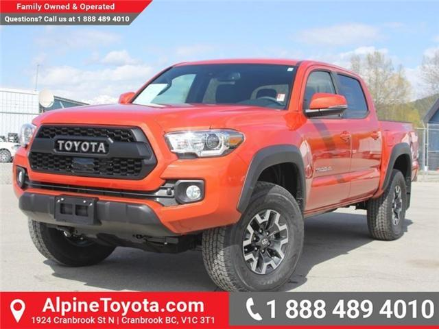 2018 Toyota Tacoma TRD Off Road (Stk: X142106) in Cranbrook - Image 1 of 18