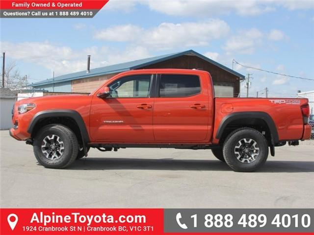 2018 Toyota Tacoma TRD Off Road (Stk: X142106) in Cranbrook - Image 2 of 18