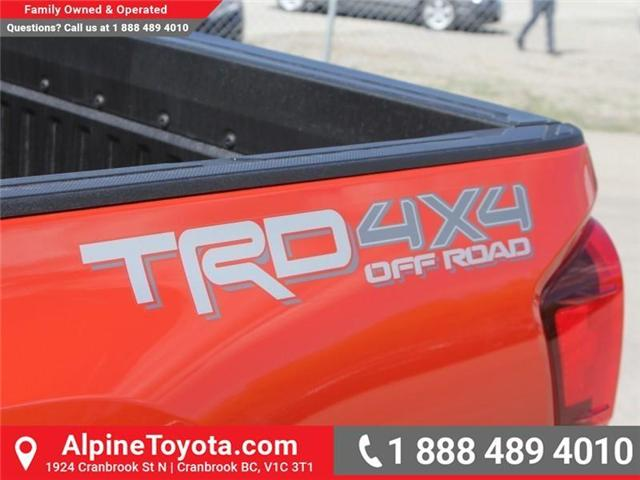 2018 Toyota Tacoma TRD Off Road (Stk: X142106) in Cranbrook - Image 17 of 18