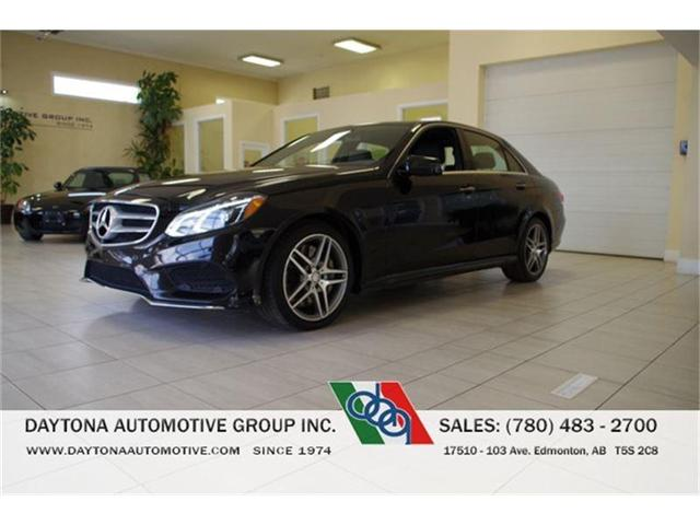 2014 Mercedes-Benz E-Class E550 4MATIC AMG PACKAGE (Stk: 8993) in Edmonton - Image 1 of 16