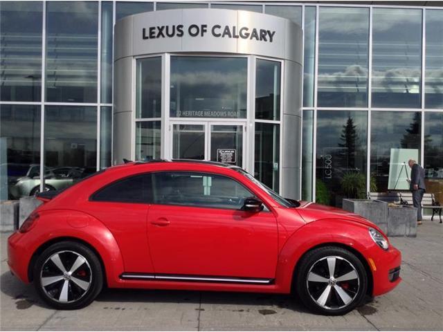 2013 Volkswagen Beetle 2.0 TSI Sportline (Stk: 3793A) in Calgary - Image 1 of 11