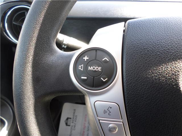 2015 Toyota Prius c Base (Stk: 1780541) in Moose Jaw - Image 12 of 21