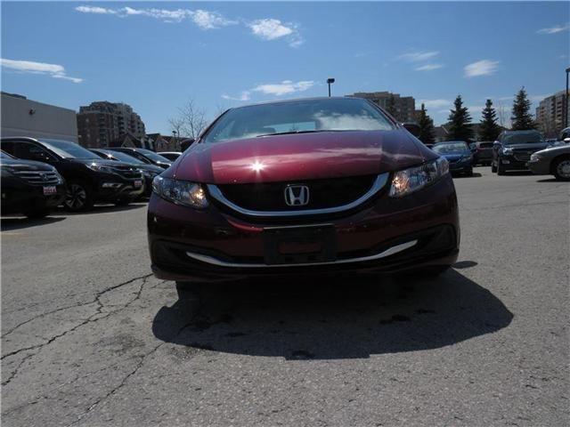 2014 Honda Civic EX (Stk: 1989P) in Richmond Hill - Image 2 of 10