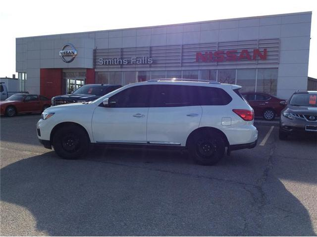 2017 Nissan Pathfinder Platinum (Stk: P1923) in Smiths Falls - Image 1 of 13