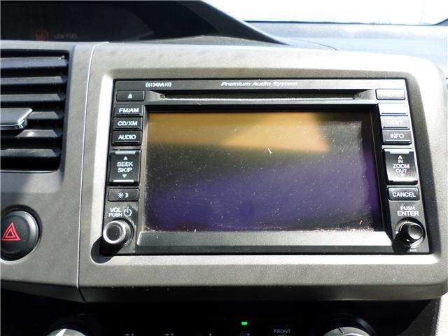 2012 Honda Civic EX-L (Stk: 1780352) in Moose Jaw - Image 18 of 21