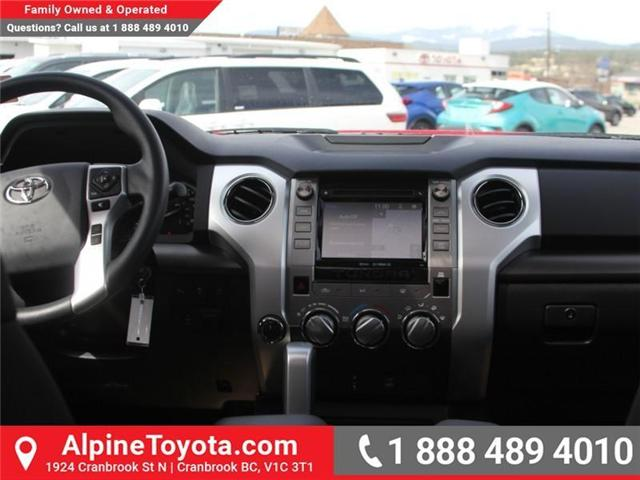 2018 Toyota Tundra  (Stk: X703811) in Cranbrook - Image 9 of 18