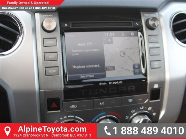 2018 Toyota Tundra  (Stk: X703811) in Cranbrook - Image 12 of 18