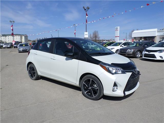 2016 Toyota Yaris SE (Stk: 6906) in Moose Jaw - Image 4 of 21