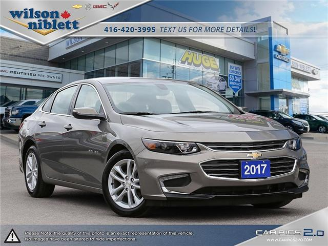 2017 Chevrolet Malibu 1LT (Stk: P270944) in Richmond Hill - Image 1 of 29