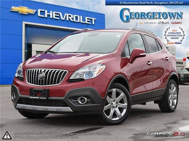 2014 Buick Encore Leather (Stk: 27066) in Georgetown - Image 1 of 27