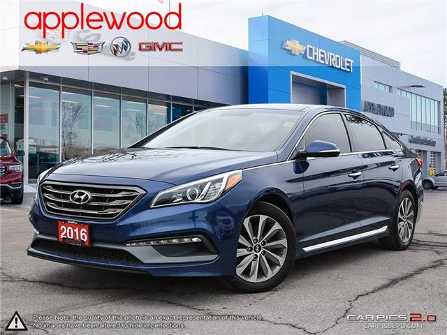 2016 Hyundai Sonata Sport Tech (Stk: 157TN) in Mississauga - Image 1 of 27