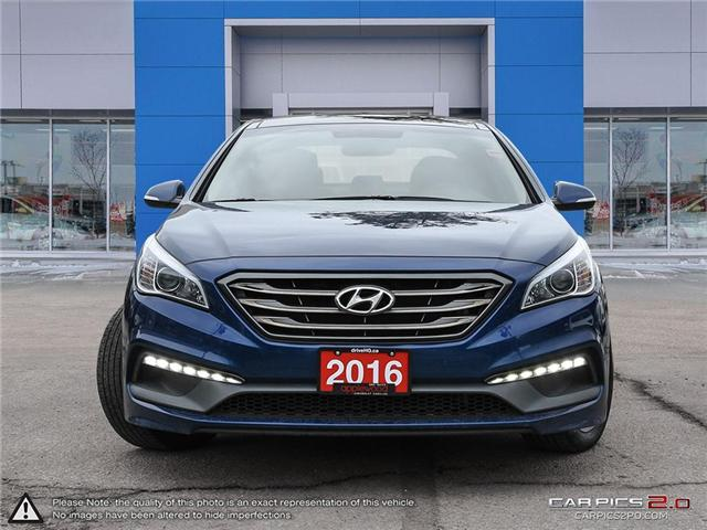 2016 Hyundai Sonata Sport Tech (Stk: 157TN) in Mississauga - Image 2 of 27