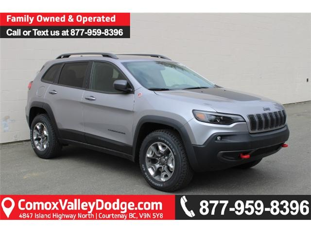 2019 Jeep Cherokee Trailhawk (Stk: D107786) in Courtenay - Image 1 of 30