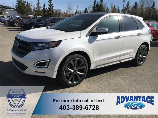 2018 Ford Edge Sport (Stk: J-823) in Calgary - Image 1 of 5