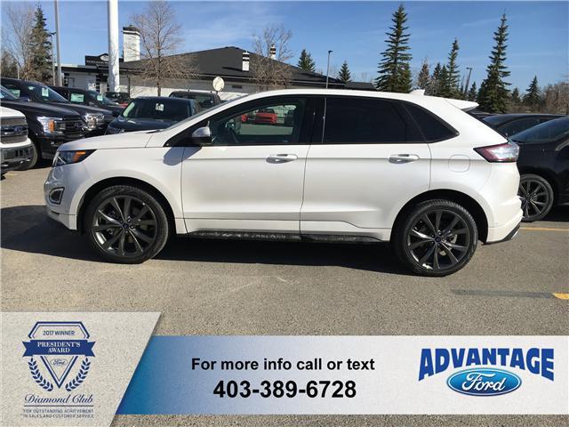 2018 Ford Edge Sport (Stk: J-823) in Calgary - Image 2 of 5