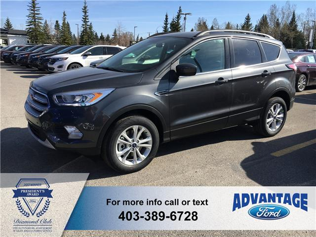 2018 Ford Escape SEL (Stk: J-834) in Calgary - Image 1 of 5