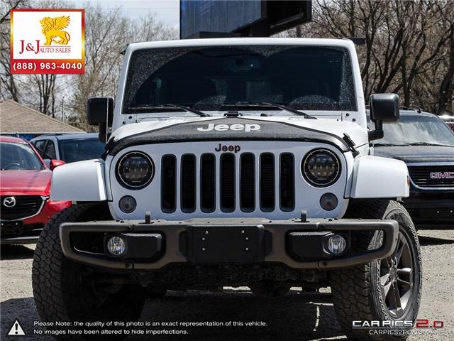 2016 Jeep Wrangler Unlimited Sahara (Stk: J18024) in Brandon - Image 2 of 27