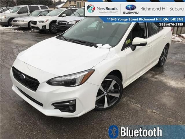2018 Subaru Impreza Sport-tech (Stk: 30437) in RICHMOND HILL - Image 1 of 21
