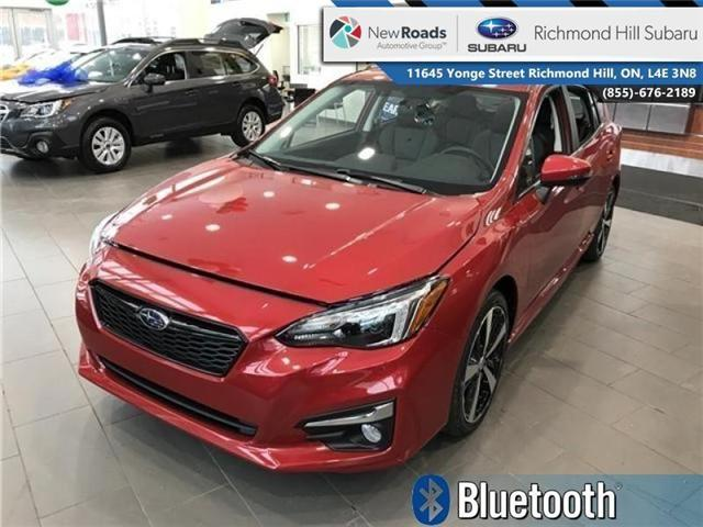 2018 Subaru Impreza Sport-tech (Stk: 30388) in RICHMOND HILL - Image 1 of 18
