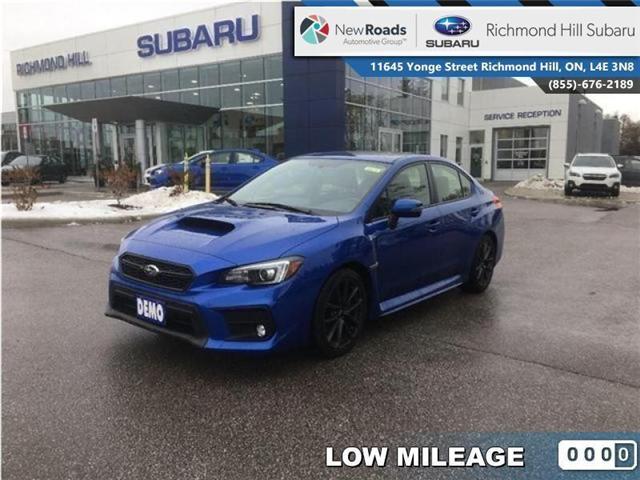 2018 Subaru WRX  (Stk: 30074) in RICHMOND HILL - Image 1 of 24