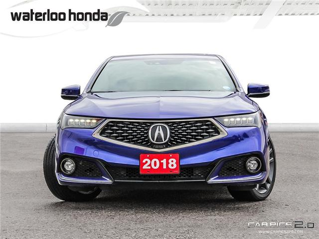 2018 Acura TLX Tech A-Spec (Stk: U3741) in Waterloo - Image 2 of 27