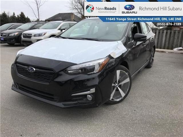 2018 Subaru Impreza Sport-tech (Stk: 30598) in RICHMOND HILL - Image 1 of 21