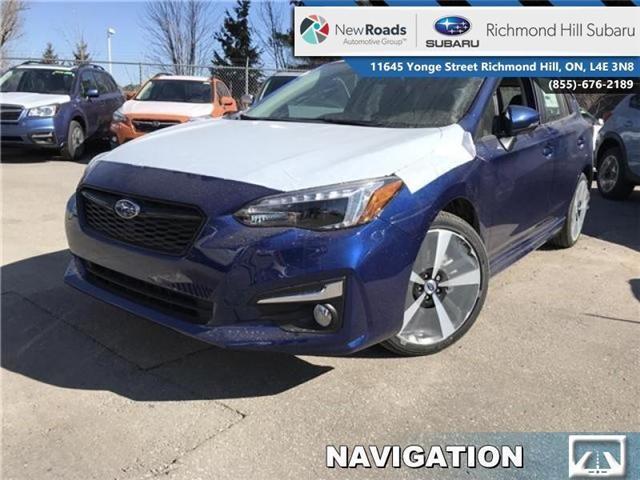 2018 Subaru Impreza Sport-tech (Stk: 30659) in RICHMOND HILL - Image 1 of 17