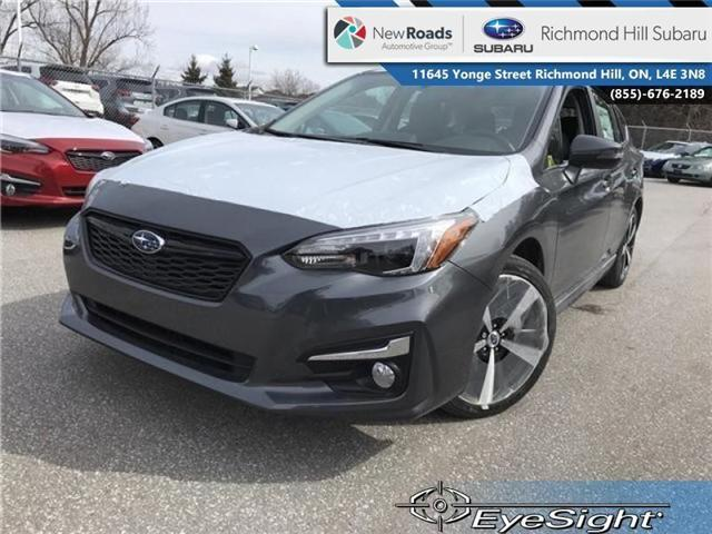 2018 Subaru Impreza Sport-tech (Stk: 30712) in RICHMOND HILL - Image 1 of 21
