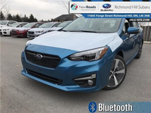 2018 Subaru Impreza Sport-tech (Stk: 30716) in RICHMOND HILL - Image 1 of 18