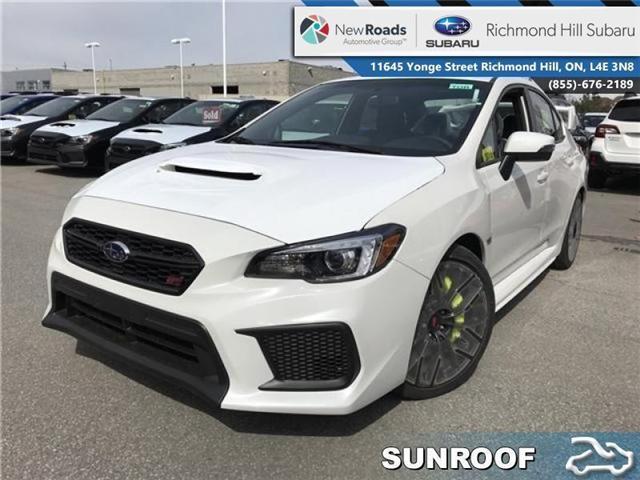2018 Subaru WRX STI  (Stk: 30713) in RICHMOND HILL - Image 1 of 22