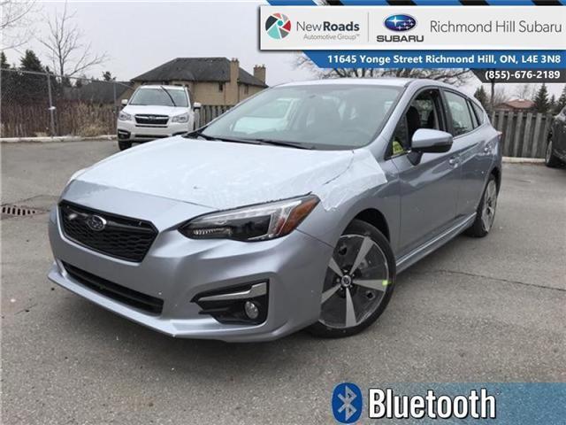 2018 Subaru Impreza Sport-tech (Stk: 30722) in RICHMOND HILL - Image 1 of 20