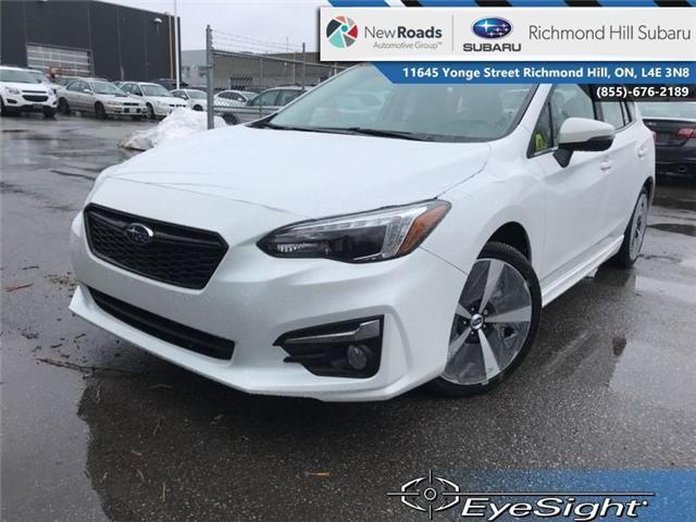 2018 Subaru Impreza Sport-tech (Stk: 30749) in RICHMOND HILL - Image 1 of 20