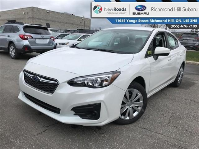 2018 Subaru Impreza Convenience (Stk: 30770) in RICHMOND HILL - Image 1 of 20