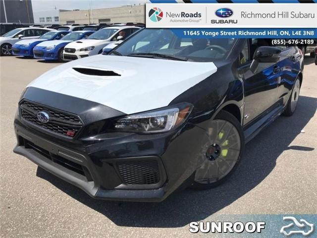 2018 Subaru WRX STI  (Stk: 30800) in RICHMOND HILL - Image 1 of 19