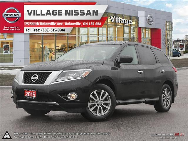 2015 Nissan Pathfinder S (Stk: 60747B) in Unionville - Image 1 of 26