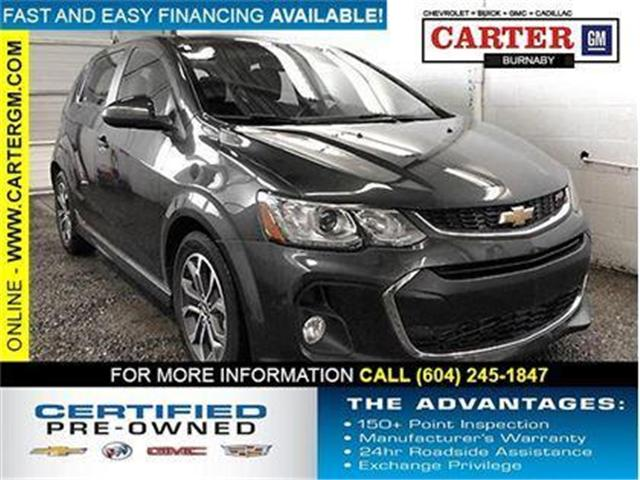 2017 Chevrolet Sonic LT Auto (Stk: P9-54210) in Burnaby - Image 1 of 23