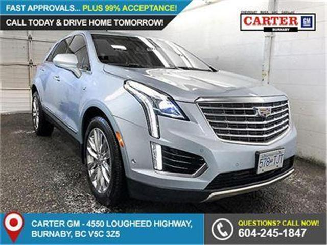 2017 Cadillac XT5 Platinum (Stk: C7-39020) in Burnaby - Image 1 of 7