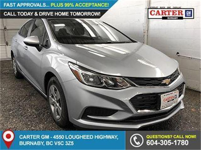 2018 Chevrolet Cruze LS Auto (Stk: J8-33210) in Burnaby - Image 1 of 7