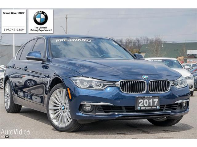 2017 BMW 330 i xDrive (Stk: PW4291A) in Kitchener - Image 1 of 22